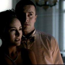Jody Thompson nel ruolo di Ann Telesca, una vittima nell'episodio 'Il quadro maledetto' di Supernatural