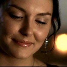 Taylor Cole, nel ruolo di Sarah Blake, una ragazza che accende l'interesse di Sam, nell'episodio 'Il quadro maledetto' di Supernatural