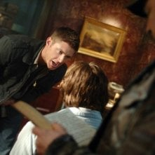 Padalecki e Ackles con Jim Beaver , nell'episodio 'Born under a bad sign' della serie tv Supernatural