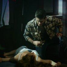 Jensen Ackles e Georgia Craig nell'episodio 'Nightshifter' della serie tv Supernatural