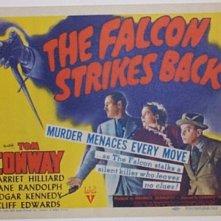 Una lobbycard promozionale de Il Falco colpisce ancora