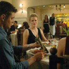 Jensen Ackles con Samantha Smith nell'episodio 'What is and What should never be' della serie Supernatural
