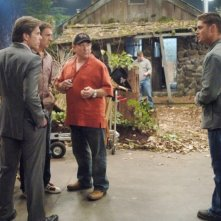 Jensen Ackles, Gary Cole, Regan Burns e Don Stark nell'episodio 'Hollywood babylon' della serie tv Supernatural