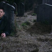 Jensen Ackles nei panni di Dean nell'episodio 'All Hell breaks loose: part 2' della serie tv Supernatural