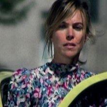 Francesca Faiella in una scena del cortometraggio Clacson