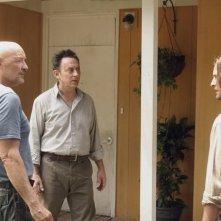 Josh Holloway, Michael Emerson e Terry O'Quinn nell'episodio 4x09 di Lost