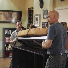 Michael Emerson e Terry O'Quinn nell'episodio 4x09 di Lost