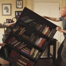 Michael Emerson e Terry O'Quinn nell'episodio 'The Shape of Things to Come' di Lost