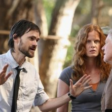 Rebecca Mader, Sam Anderson e Jeremy Davies in una scena dell'episodio 4x10 di Lost