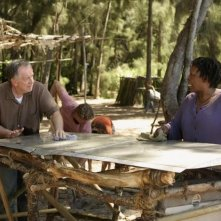 Sam Anderson e L. Scott Caldwell in una scena dell'episodio 4x10 di Lost
