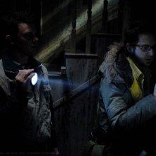 A.J. Buckley e Travis Wester nei ruoli di Ed Zeddmore e Harry Spengler nell'episodio 'Ghostfacers', della serie Supernatural