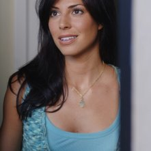 Cindy Sampson nel ruolo di Lisa Braeden, una ex fiamma di Dean Winchester nell'episodio 'The Kids are alright' della serie Supernatural