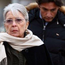 Isa Barzizza e Roberto Farnesi in una scena 'Per una notte d'amore'