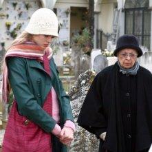 Isa Barzizza e Vanessa Hessler in una scena 'Per una notte d'amore'