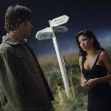 Jared Padalecki e Sandra McCoy nell'episodio 'Bedtime stories' della serie Supernatural