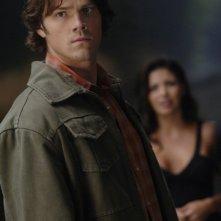 Jared Padalecki e Sandra McCoy nell'episodio 'Bedtime stories' del serial Supernatural