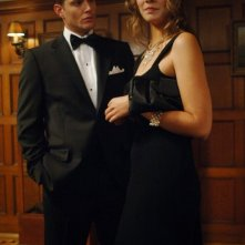Jensen Ackles e Lauren Cohan in 'Red sky at morning' episodio della serie Supernatural