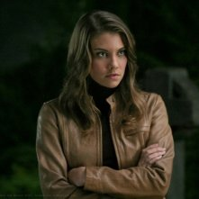 Lauren Cohan interpreta il ruolo di Bela Talbot nell'episodio 'Bad Day at Black Rock' della serie Supernatural