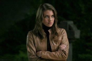 Lauren Cohan interpreta il ruolo di Bela Talbot nell'episodio 'Bad Day at Black Rock' della serie Supernatural