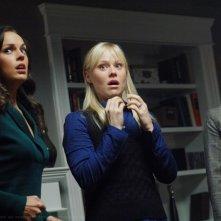 Marisa Ramirez, Erin Cahill e Kristin Booth, le tre streghe nell'episodio 'Malleus Maleficarum' della serie Supernatural