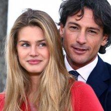 Vanessa Hessler e Roberto Farnesi in 'Per una notte d'amore'