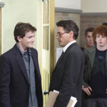 Anton Yelchin e Robert Downey Jr. in una sequenza del film Charlie Bartlett