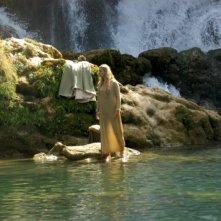 Giada Desideri in una scena del film fantasy L'anno mille