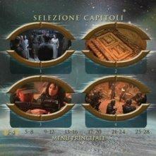 Il menù della selezione capitoli di Stargate - L'arca della verità