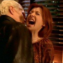 James Marsters e Alyson Hannigan nell'episodio 'Le pattuglie della notte' della quarta stagione di Buffy - L'ammazzavampiri