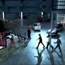 Una scena dell'episodio 'Le pattuglie della notte' della quarta stagione di Buffy - L'ammazzavampiri