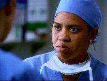 Chandra Wilson nel ruolo della dottoressa Miranda Bailey, nell'episodio 'Se non ci fosse un domani' della serie Grey's Anatomy
