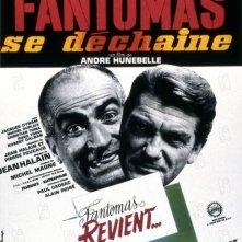 La locandina di Fantomas minaccia il mondo