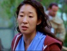 Sandra Oh interpreta la dottoressa Yang nell'episodio 'Se non ci fosse un domani' della serie Grey's Anatomy