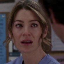 Ellen Pompeo nell'episodio 'Baind-Aid Covers the Bullet Hole' della serie tv Grey's Anatomy