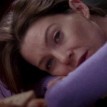 Ellen Pompeo nell'episodio 'Time has come Today' della serie Grey's Anatomy