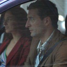 Giorgio Caputo e Valentina Carnelutti in una sequenza del film Sfiorarsi
