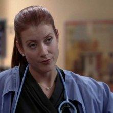 Kate Walsh nel ruolo della dottoressa Addison nell'episodio 'Owner of a lonely heart' della serie Grey's Anatomy