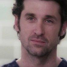 Patrick Dempsey nel ruolo del dottor Derek Sheperd, un neurochirurgo, nell'episodio 'As we Know it' della serie Grey's Anatomy