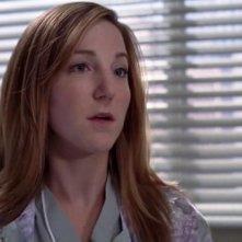 Sarah Utterback nei panni dell'infermiera Olivia Harper nell'episodio 'Owner of a lonely heart' della serie Grey's Anatomy