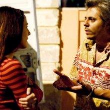 Valentina Carnelutti e Dino Abbrescia in una sequenza del film Sfiorarsi
