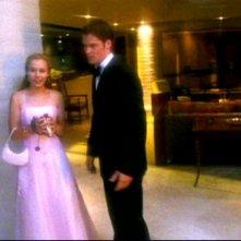 Kristen Bell e Teddy Dunn in una scena dell'episodio 'Un nuovo ragazzo ' della prima stagione di 'Veronica Mars'