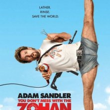 La locandina di You Don't Mess With the Zohan