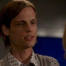 Matthew Gray Gubler, interpreta il dott. Spencer Reid nella serie Criminal Minds, episodio: Somebody's watching
