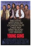 La locandina di Young guns II - la leggenda di Billy the Kid