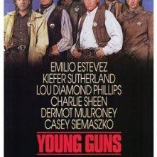 La locandina di Young guns II - la leggenda di Billy the Kid