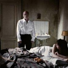 Luca Zingaretti e Monica Bellucci, protagonisti del film Sanguepazzo