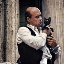 Luca Zingaretti in una scena del dramma Sangue pazzo