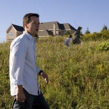 Mark Wahlberg in una sequenza del film E venne il giorno (The Happening)
