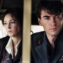 Monica Bellucci con Alessio Boni in una scena del film Sangue pazzo