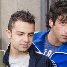 Andrea De Rosa e Marco Iannone in una scena del film Ultimi della classe